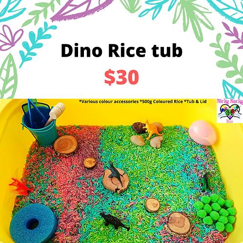 Dino Rice Tub