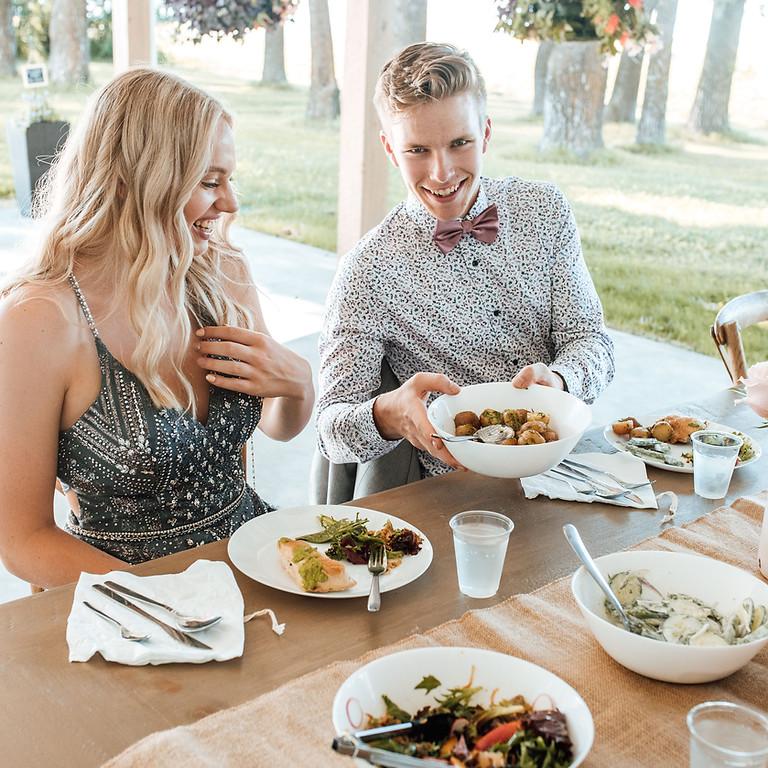 Family Style Grad Dinner