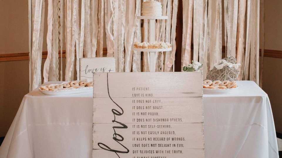 Love is Signage - White collection