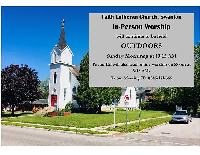In Person Worship Return Announcement Fa