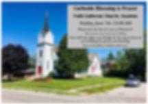 Curbside Blessing & Prayer Announcement