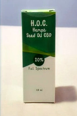Olio CBD 20% H.O.C. 10ml Serra Matrix
