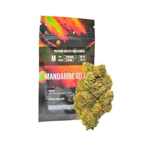 Packaged CBD cannabis