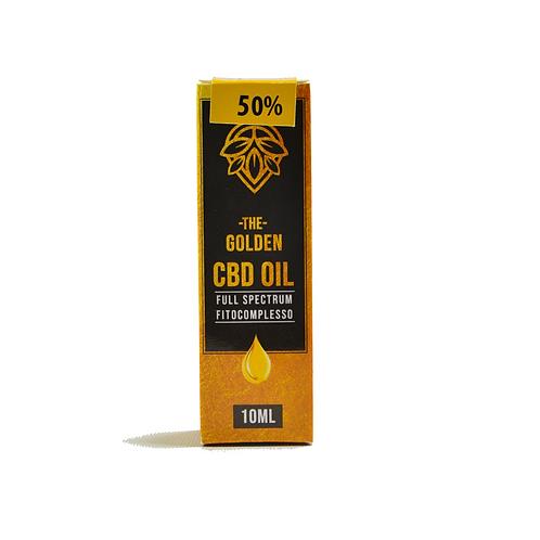 Olio CBD 50% Full Spectrum 10 ml