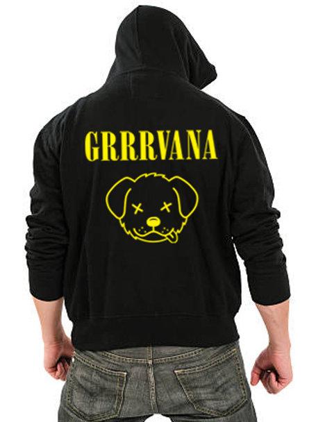 GRRRvana Men's/ Unisex Zip Front Hoodie