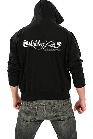 Classic Logo Men's/ Unisex Zip Front Hoodie