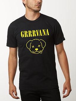 grrvana men's tshirt front- mock up- web