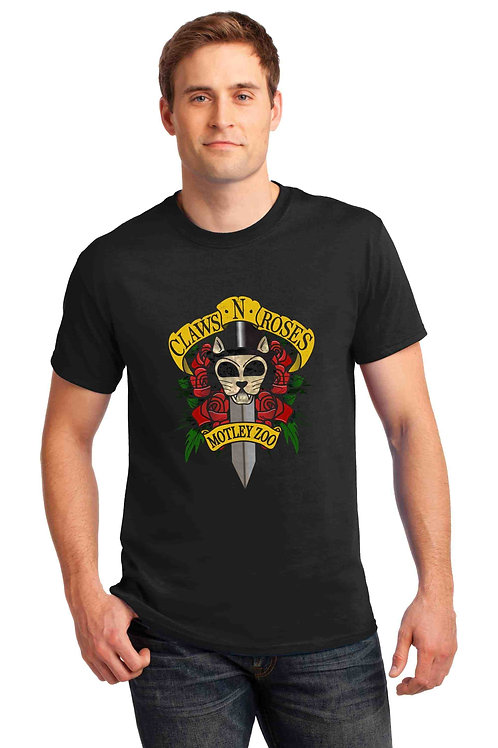 Claws N Roses Men's/ Unisex Tshirt