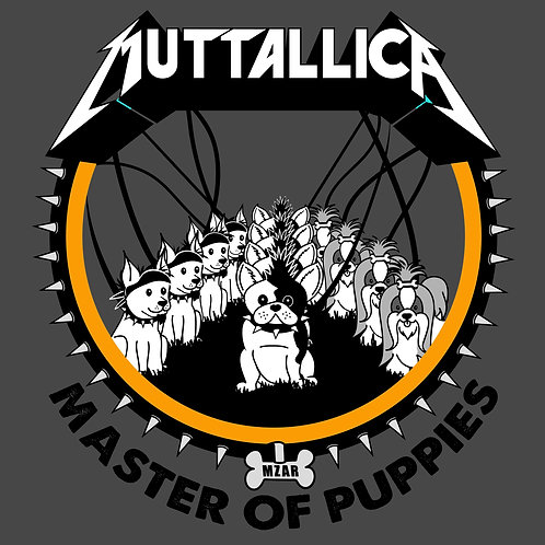 Muttallica Men's/ Unisex Tank
