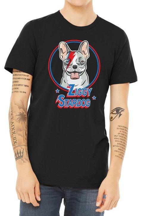 Ziggy Stardog Men's/ Unisex Tshirt