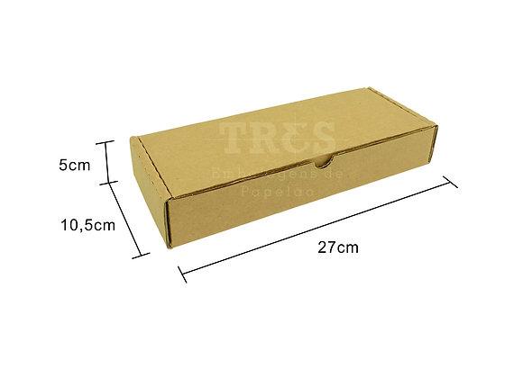 Caixa Sedex 27 x 10,5 x 5 cm