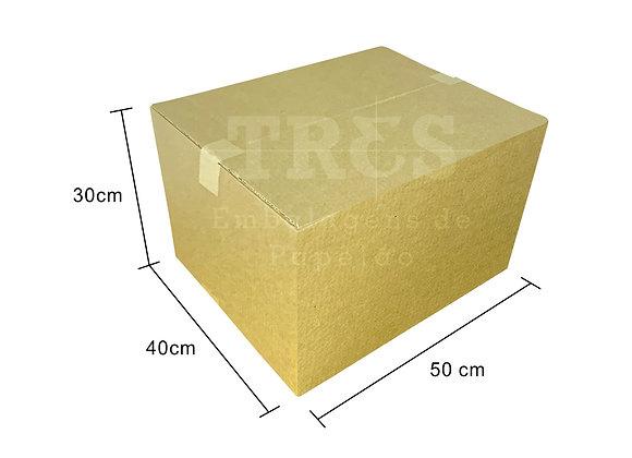 Caixa para Transporte 50 x 40 x 30 cm Reforçada