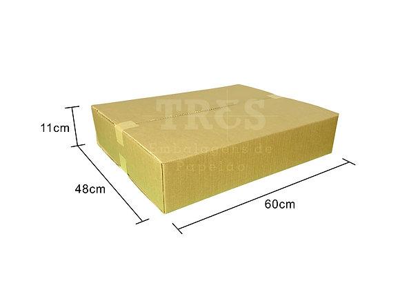 Caixa para Transporte 60 x 48 x 11 cm Reforçada