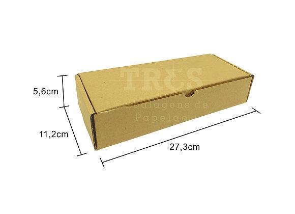 Caixa Sedex 27,3 x 11,2 x 5,6 cm
