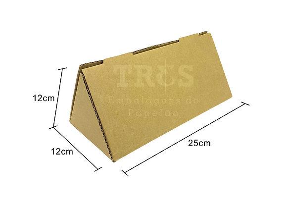 Caixa Triângulo 12 x 12 x 25 cm