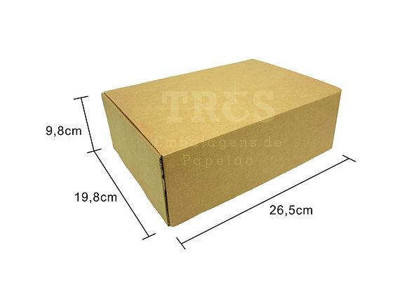 Caixa Sedex M 26,5 x 19,8 x 9,8 cm