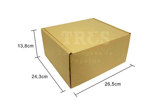 Caixa Sedex G 26,5 x 24,3 x 13,8 cm
