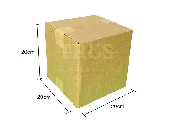 Caixa para Transporte 20 x 20 x 20 cm