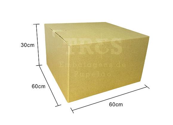 Caixa para Transporte 60 x 60 x 30 cm Reforçada