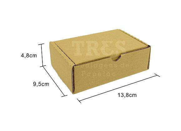 Caixa Sedex 13,8 x 9,5 x 4,8 cm