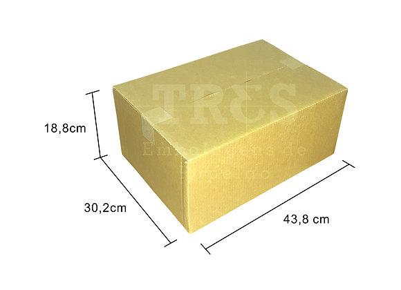 Caixa para Transporte 43,8 x 30,2 x 18,8 cm