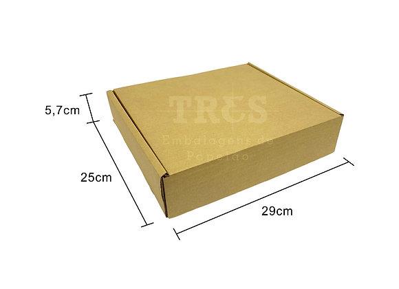 Caixa Sedex 29 x 25 x 5,7 cm