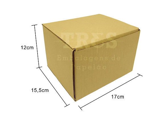 Caixa Sedex 17 x 15,5 x 12 cm