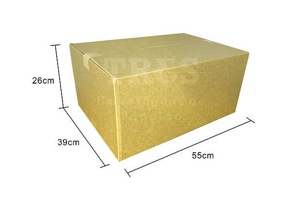 Caixa para Transporte 55 x 39 x 26 cm