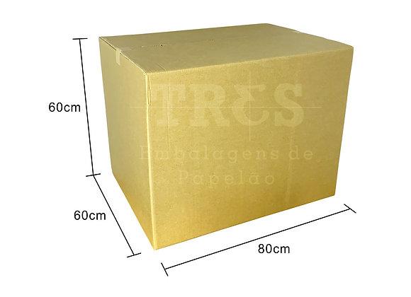 Caixa para Transporte 80 x 60 x 60 cm Reforçada