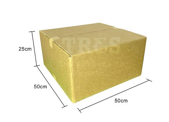 Caixa para Transporte 50 x 50 x 25 cm Reforçada