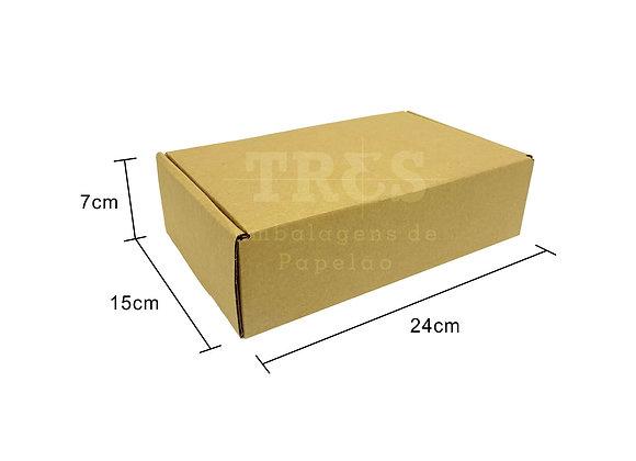 Caixa Sedex 24 x 15 x 7 cm