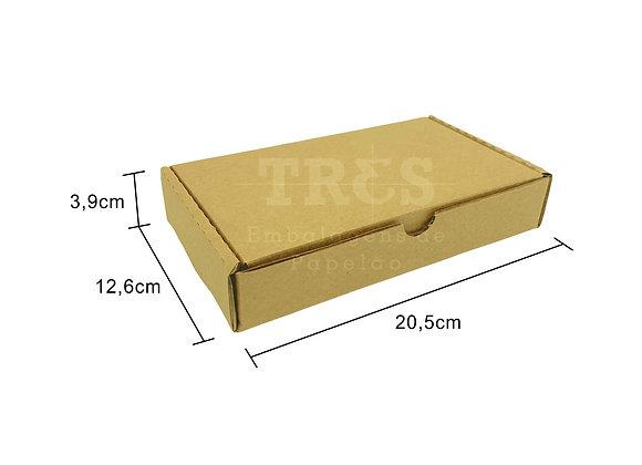 Caixa Sedex 20,5 x 12,6 x 3,9 cm