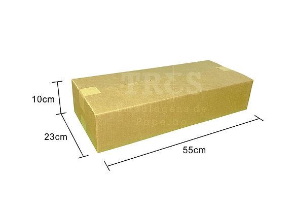 Caixa para Transporte 55 x 23 x 10 cm Reforçada