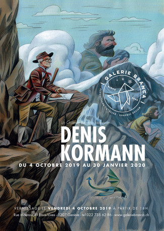 Denis Kormann expose à la Galerie