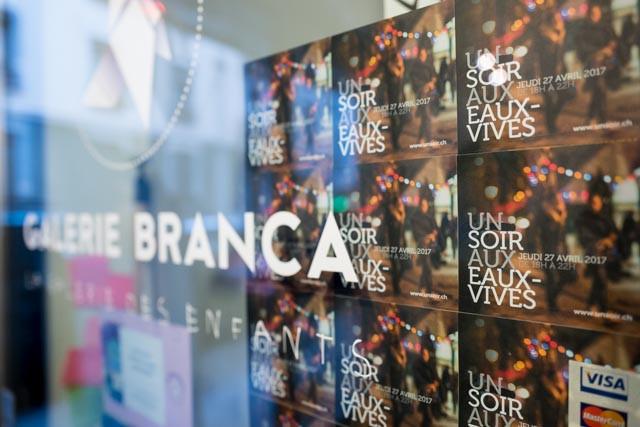 Les voyages de K.... Un soir aux Eaux-Vives et à la Galerie Branca