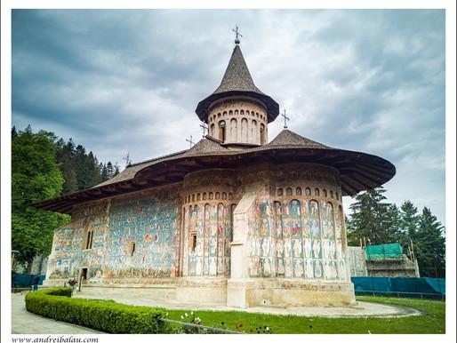 """Mănăstirea Voroneţ - """"Capela Sixtină a Estului"""""""
