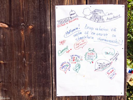 Clacă în Bucovina - Îmbrăcăm Casa Aionițoaie!