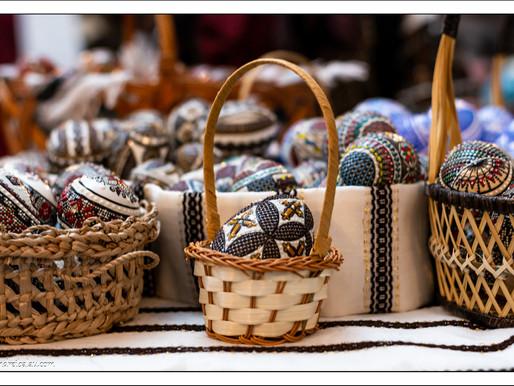 Obiceiul încondeierii ouălor de Paște în Bucovina!