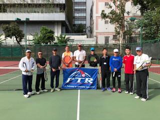 2018 年成人網球教學認證完滿結束