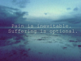 Pain versus Suffering