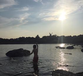Badning ved Oren