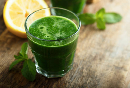 Pear-Lime Green Juice
