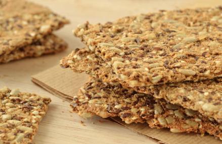 Gluten Free Multi-Seed Crackers
