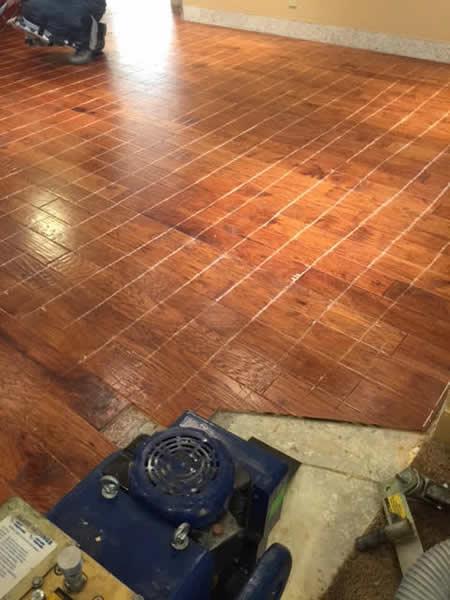 hardwood removal