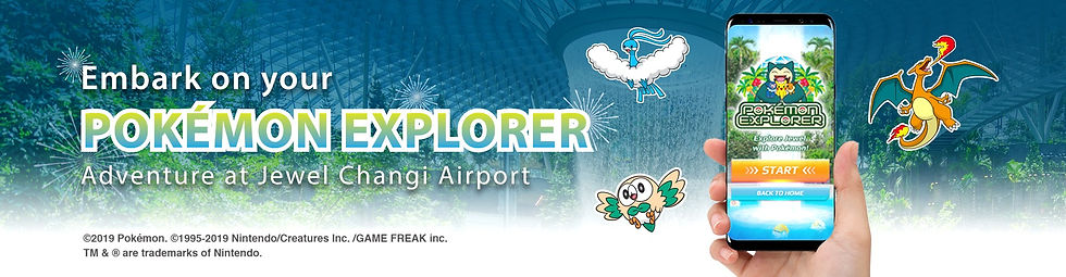 Jewel Changi Airport Pokemon Explorer