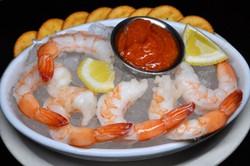 Appetizer - Shrimp Cocktail - black back