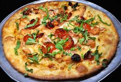 Pizza - Smoked Chicken - black backgroun
