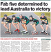 Fab Five determined to lead Australia to victory