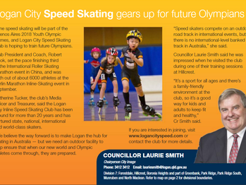 Logan City Speed Skating gears up for future Olympians