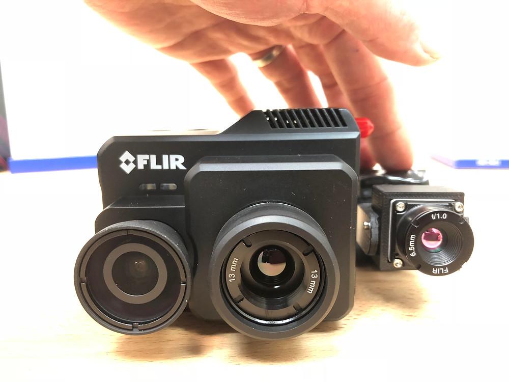 FLIR Duo Pro R vs the tiny FLIR Boson